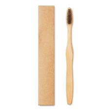 Spazzolino da denti in bamboo colore nero MO9877-03