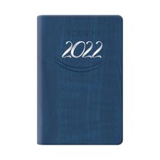 Agenda 2022 bigiornaliera tascabile blu