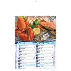 Calendario pesce e delizie di mare 2022