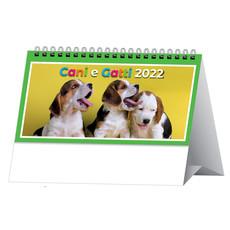 Calendarietto da tavolo cani e gatti 2022
