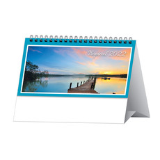 Calendarietto da tavolo paesaggi tropicali 2022