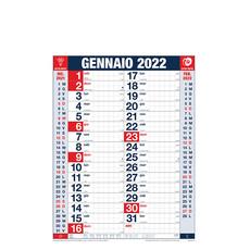 Calendario olandese a quadretti 2022