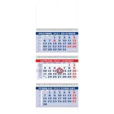 Calendario trittico 2022 a tre spirali