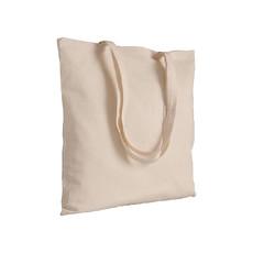 Borsa shopper 38x42 in cotone natural colore naturale