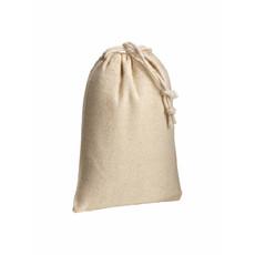 Sacchetto in cotone naturale 10x14 cm  colore naturale