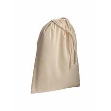Sacchetto in cotone naturale 15x20 cm colore naturale