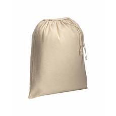 Sacchetto in cotone naturale 25x30 cm colore naturale