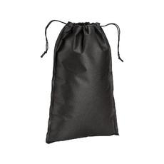 Sacchetto in tnt chiusura a strozzo 50x75 cm  colore nero