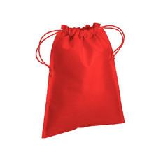 Sacchetto in tnt con cordini 25x30 cm  colore rosso