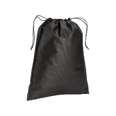 Sacchetto in tnt con cordini 40x50 cm  colore nero