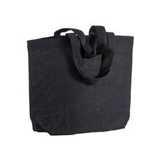 Shopper Greta colorata in cotone 120g colore nero