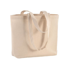 Shopper Mely in cotone naturale colore naturale