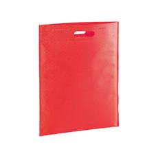 Shopper con manico intagliato colore rosso