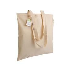 Shopper cotone organico 38x42 cm 140g colore naturale