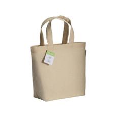 Shopper in cotone organico 32x24 cm  colore naturale