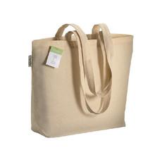 Shopper in cotone organico 40x30 cm colore naturale