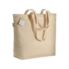 Shopper in cotone organico 50x38 cm colore naturale