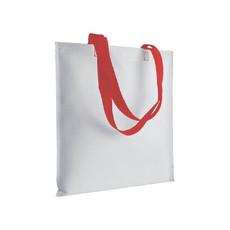 Shopper con manici lunghi colorati colore rosso