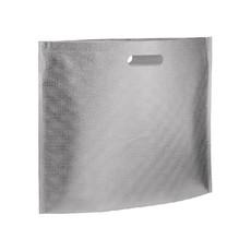 Shopper in TNT metallizzata colore argento