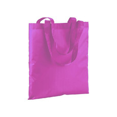 Shopper in poliestere colori fluo colore fuxia