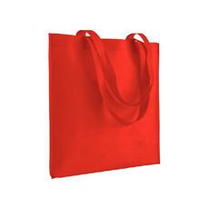 Shopper in tnt termosaldato 70g colore rosso