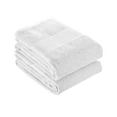 Asciugamano 40x90 cm in spugna di cotone colore bianco