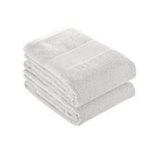 Asciugamano con banda opaca stampabile colore bianco