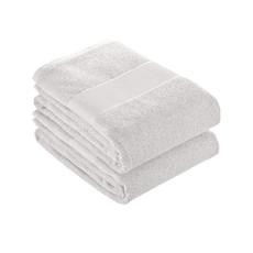 Asciugamano in spugna di cotone 80x150 cm colore bianco