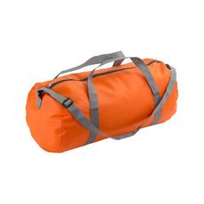 Borsa sport con tracolla e manici colore arancione