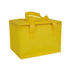 Borsa termica in tnt laminato colore giallo