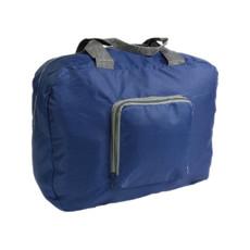 Borsone richiudibile in tasca colore blu