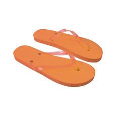 Infradito unisex taglia unica 36-39 colore arancione
