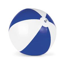 Pallone gonfiabile da spiaggia bicolore colore royal