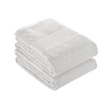 Telo in spugna di cotone 80x150 cm colore bianco