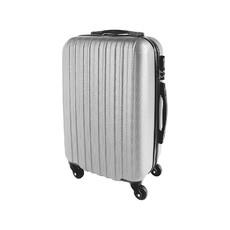 Valigia rigida con chiusura a combinazione colore argento