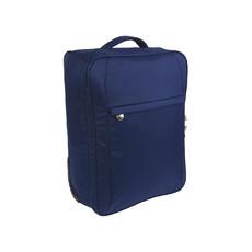 Valigia trolley da viaggio in poliestere colore blu