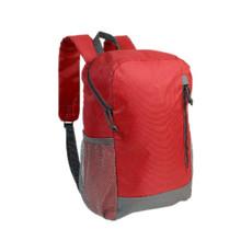 Zainetto 600d poliestere 34x22x12 verde colore rosso