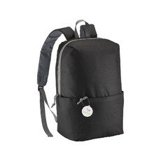 Zaino con tasca stampabile  colore nero