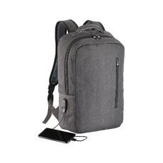 Zaino porta pc con porta USB esterna colore grigio