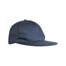 Cappellino 5 pannelli con visiera dritta colore blu