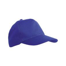 Cappellino bimbo 5 pannelli colore royal