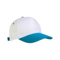 Cappellino bimbo con visiera colorata colore celeste