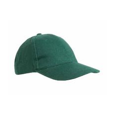 Cappellino in cotone pesante Sammy colore verde