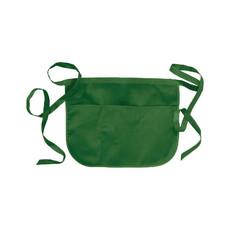 Grembiule corto 3 tasche colore verde