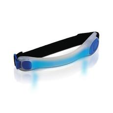 Luce di sicurezza con LED in colore BLU colore trasparente