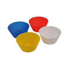 Set 4 formine per dolci in silicone colore multicolore