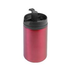 Tazza termica Metal in acciaio inox colore rosso