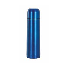 Thermos in acciaio inossidabile con tappo bicchiere colore royal