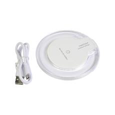 Base di ricarica wireless  colore bianco