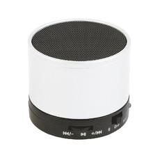 Mini altoparlante Bluetooth con microfono colore bianco